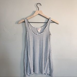 B&W stripped tank top from Target.